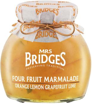 Mrs. Bridges Four Fruit Marmalade 340g
