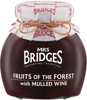 Mrs. Bridges Fruits of the Forest Preserve with Mulled Wine 340g