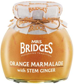 Mrs. Bridges Orange Marmalade with Stem Ginger 340g