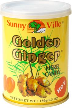 Sunny Ville Golden Ginger Herb Candy 150g