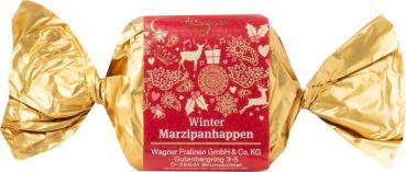 Wagner Praline Marzipanhappen Winter 1stk/25g lose verpackt
