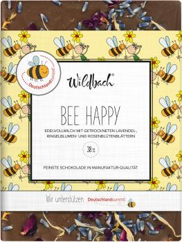 Wildbach Schokolade Bee Happy 38% 70g
