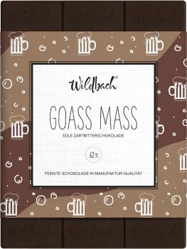 Wildbach Schokolade Goass Mass 62% 70g