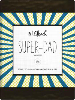 Wildbach Schokolade Super-Dad 62% 70g