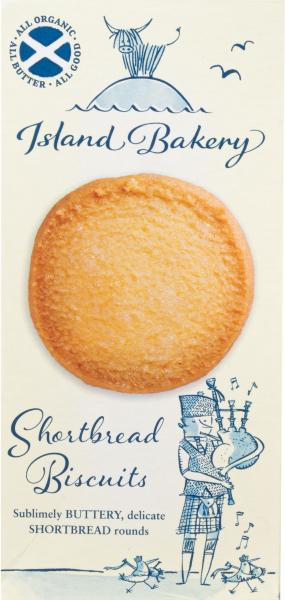 Island Bakery Shortbread Biscuits 125g