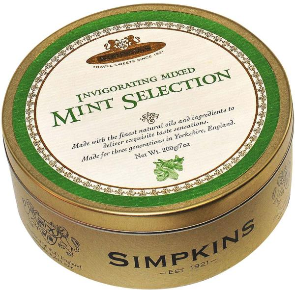 Simpkins Drops Mint Selection 200g