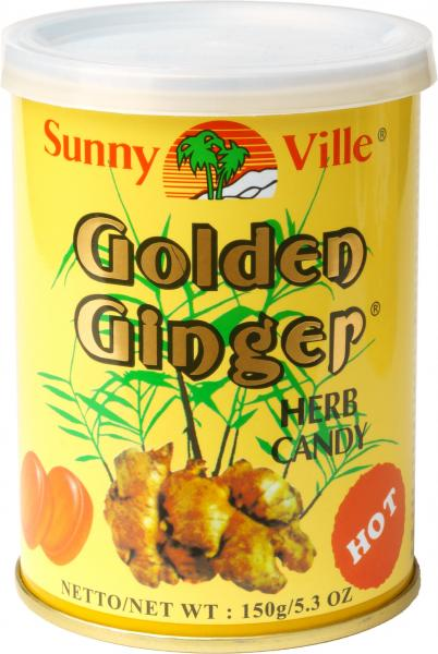 Sunny Ville Golden Ginger Herb Candy 150g Dose